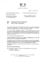 Arrêté préfectoral sur les restrictions de l'usage de l'eau du 19 juillet 2018